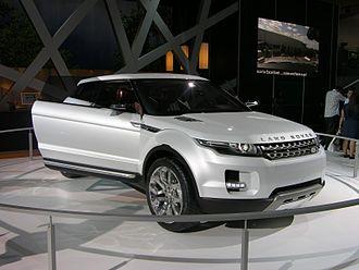 Range Rover Evoque - The Land Rover LRX Concept in 2008