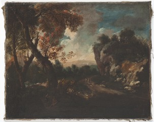 Landscape with a Cliff
