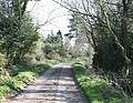 Lane leading to Shawbroom - geograph.org.uk - 391758.jpg