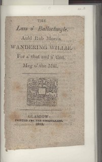 Lass o' Ballochmyle; Auld Rob Morris; Wandering Willie; For A' That and A' That; Meg o' the Mill WDL3389.pdf
