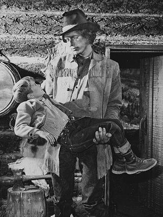 Richard Kiel - Kiel with Jon Provost in Lassie's Great Adventure, 1965
