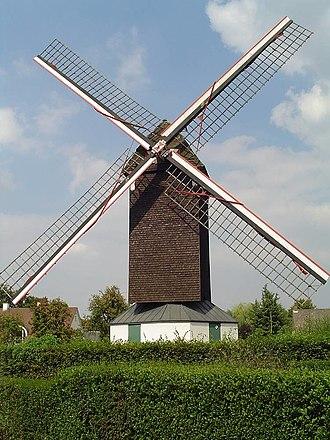 Sint-Martens-Latem - Image: Latemse windmolen
