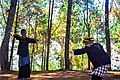Latihan Manah dan Silat di Gunung Karuhun, Gunung Padang Cianjur.jpg