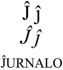 Latin small and capital letter j with circumflex.jpg