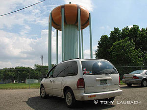 Circleville, Ohio - Circleville Pumpkin Water Tower