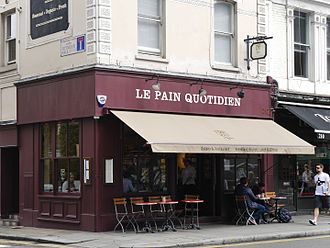 Le Pain Quotidien - Le Pain Quotidien, Fulham Road, Chelsea, London