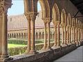 Le cloître de labbaye bénédictine (Monreale) (6893554592).jpg