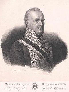 Bernhard Erasmus von Deroy German general