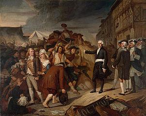 Le Maire Kervégan arrêtant une émeute de paysans à l'octroi de Nantes en 1790