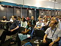 Learning Literacy with Wikipedia session at Wikimania 2014 02.jpg
