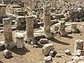 Lebanon, Baalbek, Ancient columns.jpg