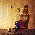 Lemon and a bottle of denaturat 1993r..jpg