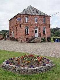 Lerzy (Aisne) mairie.JPG