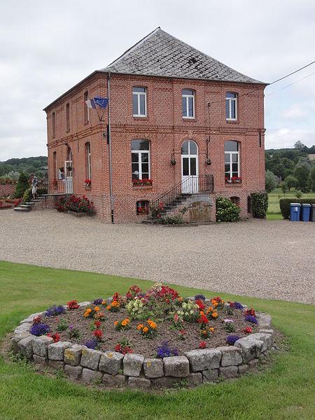 Lerzy (Aisne) mairie