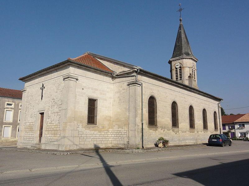 Les Monthairons (Meuse) église