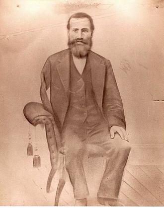 Breitenbush, Oregon - Lewis Breitenbucher, circa 1870