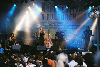 Lhasa de Sela - Lhasa performing in Stuttgart in 2005