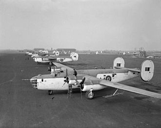 365th Intelligence, Surveillance and Reconnaissance Group - RAF Liberators equipped with ASV radar