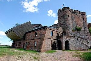 Château de Lichtenberg - Image: Lichtenberg Alsace 05