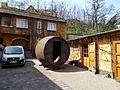 Lics Historic Winery. Wine tavern in a barrel. - Budapest District 22. Budafok, Kossuth Lajos St., 44.JPG