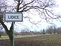 Lidice Village - Sign and Farmland - Near Prague - Czech Republic.jpg