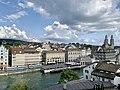 Limmat View from Lindenhof hill, Zurich (Ank Kumar) 09.jpg