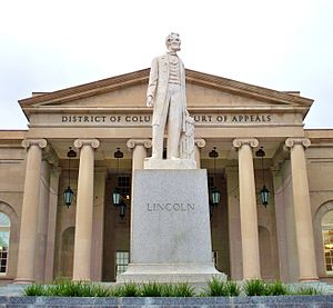 Abraham Lincoln (Flannery) - Image: Lincoln at the DC Court of Appeals