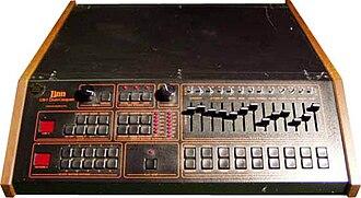 "Genesis (Genesis album) - ""Mama"" features a Linn electronic drum machine"