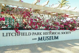 Litchfield Park, Arizona - Aunt Mary's House is now the home of the Litchfield Historic Society and Museum