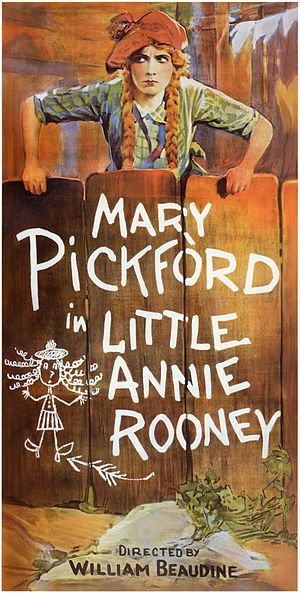 Little Annie Rooney (1925 film) - Theatrical release poster
