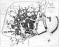 Livorno map of the town (1867) by Luigi Balatri 01.jpg