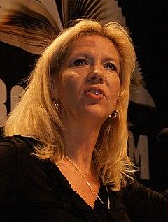 Liza Marklund, november 2008.