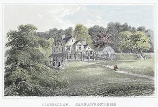 Llanbedrog, Carnarvonshire. The residence of Lady Jones-Parry