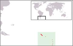 Ubicación de las Islas Georgias del Sur y Sandwich del Sur