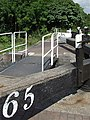 Lock No 65 Bottom Gates, Trent and Mersey Canal - geograph.org.uk - 577574.jpg