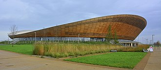 Lee Valley VeloPark - Image: London, The Olympic Velodrome, 15 11 2014 (16008863981)
