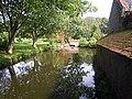 Looking East on Northside Moat Mannighton Hall 31 August 2014 .JPG