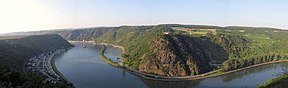 Die Loreley in Rynland-Palts.