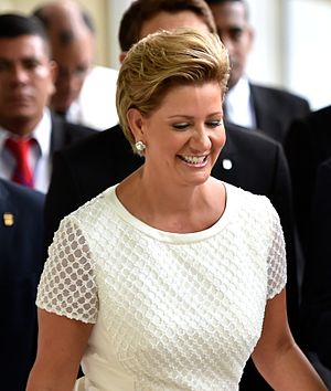 First Ladies and Gentlemen of Panama - Image: Lorena Castillo