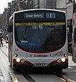 Lothian Buses bus 130 Volvo B7RLE Wrightbus Eclipse Urban SN04 NJF Harlequin livery.jpg