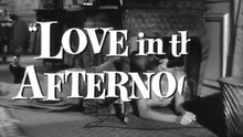 Fichier:Love in the Afternoon (1957) Trailer.webm