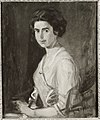 Ludwig von Herterich - Bildnis einer jungen Dame (Hilde Herterich, Nichte des Künstlers) - HST 128 - Bavarian State Painting Collections.jpg