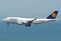 D-ABVS - B744 - Lufthansa