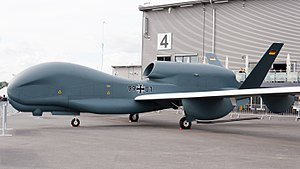 Northrop Grumman RQ-4 Global Hawk - EuroHawk at the ILA 2012