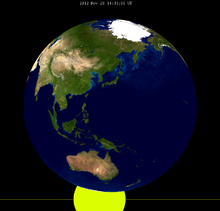 Lunar eclipse from moon-2012Nov28.png