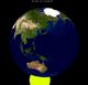 Lunar eclipse from moon-2012Nov28