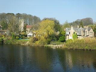 Halton-with-Aughton civil parish in Lancaster, Lancashire, England