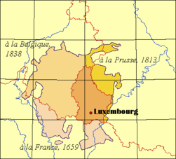 Atlas Of Luxembourg Wikimedia Commons - Luxembourg map