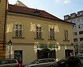 Měšťanský dům U černého lva (Staré Město), Praha 1, Masná, Rybná 20, Staré Město - pohled z Rybné ulice.JPG
