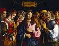 M. Marziale - Christus en de overspelige vrouw - NK2275 - Cultural Heritage Agency of the Netherlands Art Collection.jpg